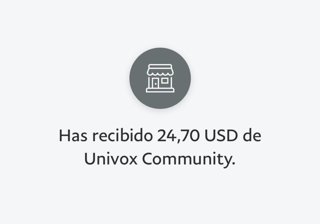 univox pago