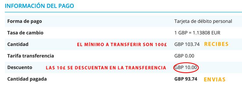 10€ ? gratis con Xendpay