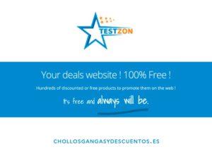 testzon productos gratis amazon