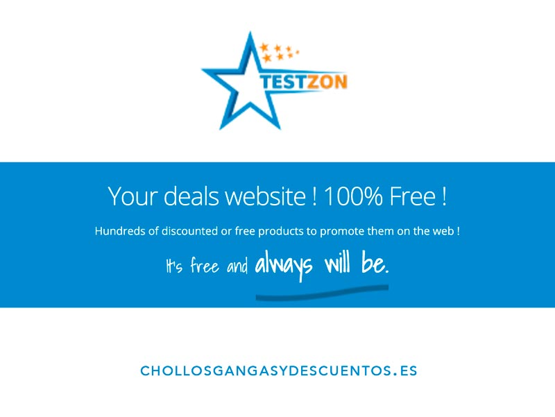 testzon productos gratis amazon
