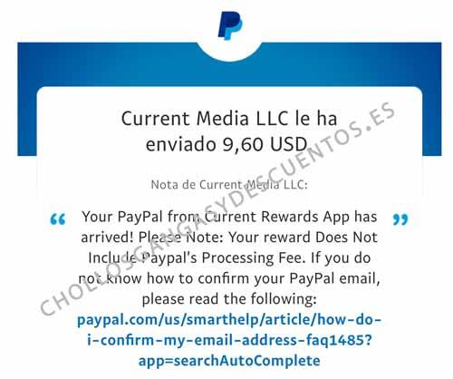 current cash pago