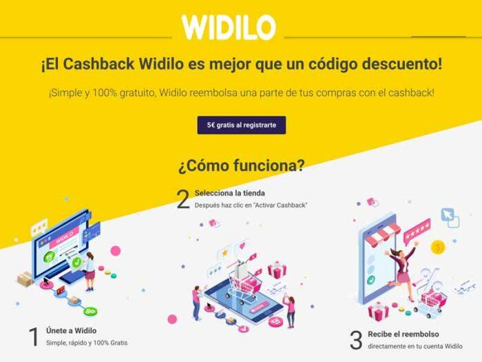 widilo cashback