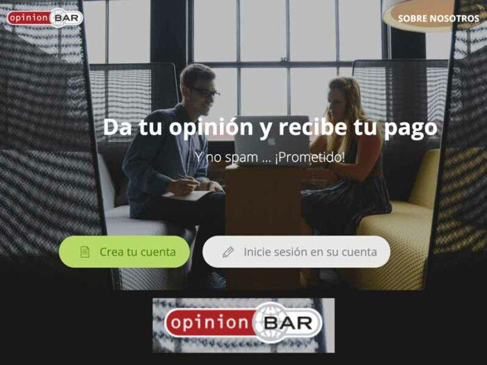 opinion bar encuestas