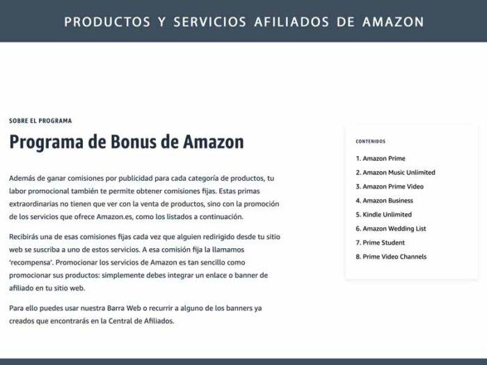 plataforma afiliacion amazon
