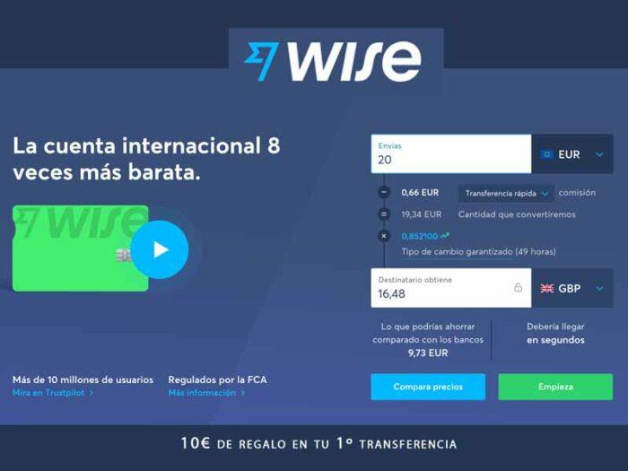 wise transferencias internacionales